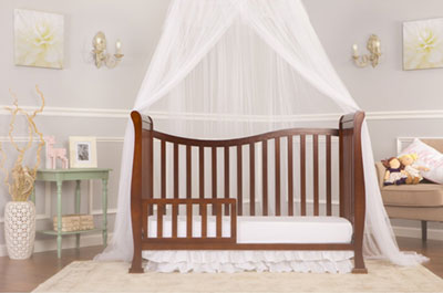 Dream On Me 7 In 1 Convertible Life Style Crib