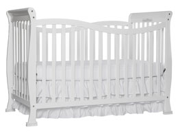 Dream On Me Violet 7-in-1 Convertible Life Style Crib - White