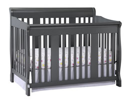 Stork Craft Tuscany 4-in-1 Convertible Crib